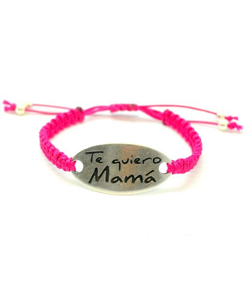 "Pulsera ""Te quiero mama"""