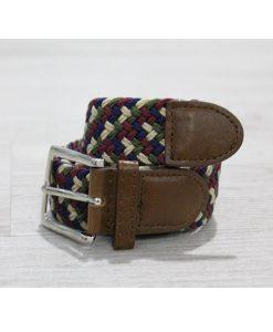 Cinturón elástico trenza