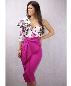 falda buganvilla