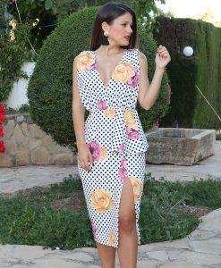 vestido lunares