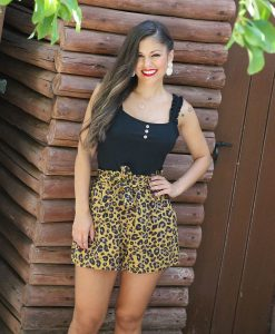 short leopardo