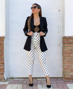 pantalon lunares