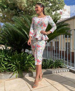 vestido aquarela